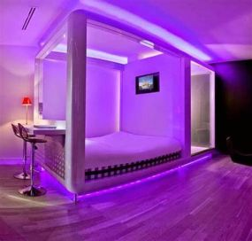 Most Popular Aesthetic Room With Led Lights Ideas 07