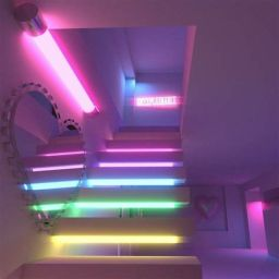 Most Popular Aesthetic Room With Led Lights Ideas 32