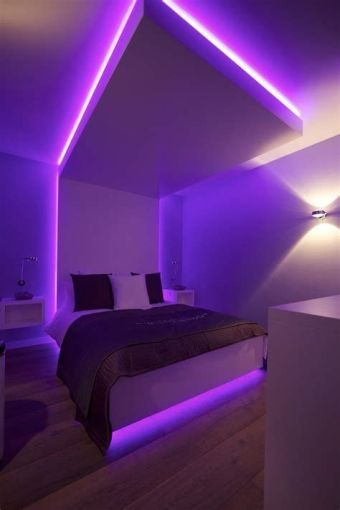 Most Popular Aesthetic Room With Led Lights Ideas 35