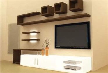 Totally Cute Simple Showcase Designs For Hall Ideas 12