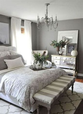 Awesome Grey And White Bedroom Ideas 08