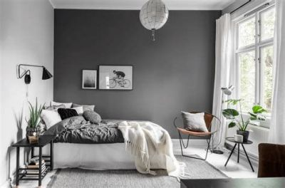 Awesome Grey And White Bedroom Ideas 16