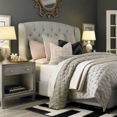 Awesome Grey And White Bedroom Ideas 17