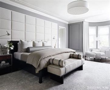 Awesome Grey And White Bedroom Ideas 21