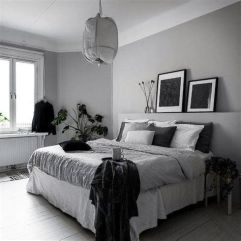 Awesome Grey And White Bedroom Ideas 37