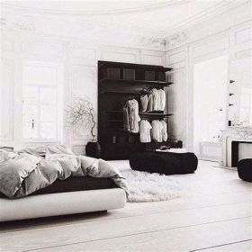 Totally Cute Black And White Room Aesthetic Ideas 19