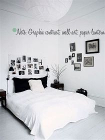 Totally Cute Black And White Room Aesthetic Ideas 23