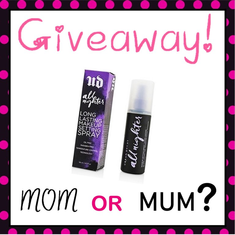 Mom or Mum Insta Giveaway!