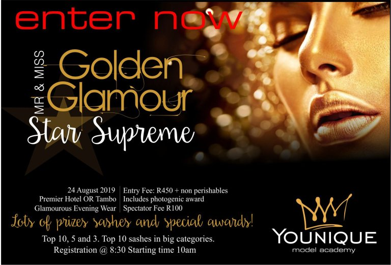 Mr & Miss Golden Glamour Star Supreme