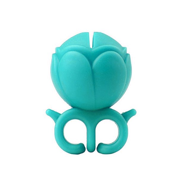 Nail Polish Holder Ring - Teal