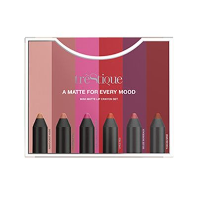 TrèStiQue - A Matte for Every Mood - Mini Matte Lip Crayon Set