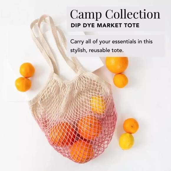 Camp Collection Dip Dye Market Tote