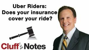 Uber Riders: Does your insurance cover your ride? Cluff Law