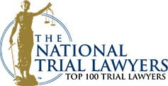 Cluff Law, plc is in the top 100 list national trial lawyers.