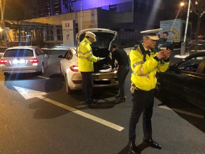 (Foto) Poliția Cluj: Razie de amploare, pe tip de noapte 3