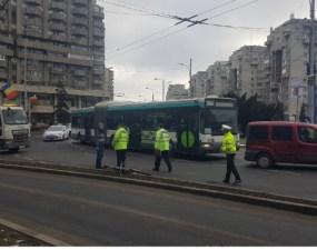 Accident Cluj. Biciclistul lovit de mașină în snsul giratoriu a trimis un mesaj de la Urgență 10