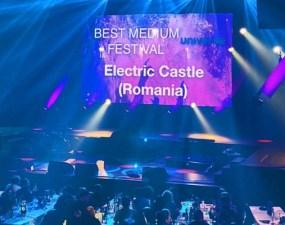 Cluj. FELICITĂRI! Electric Castle și Jazz in the Park au câștigat Best Medium Festival și Best Small Festival la European Festival Award 15