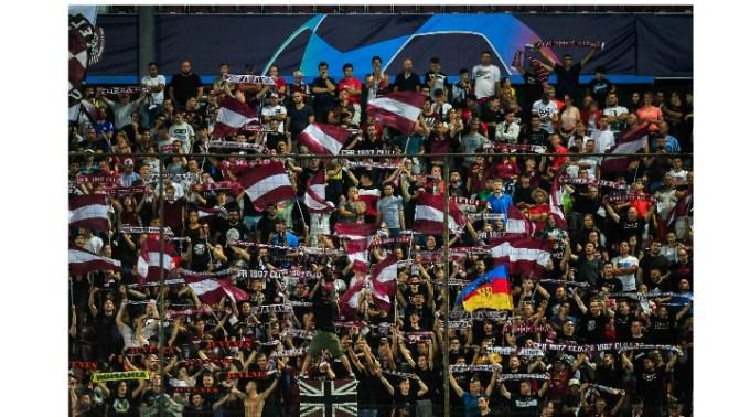 CFR Cluj- FC Sevilla 1-1. Clujenii au marcat după un penalty acordat de VAR, primul acordat pe teritoriul României 1