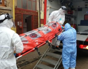 Cluj. Confirmat. O asistentă cu coronavirus la Spitalul Clinic Județean de Urgență 21