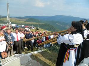 Sărbătoarea are loc pe platoul de la Mărișel