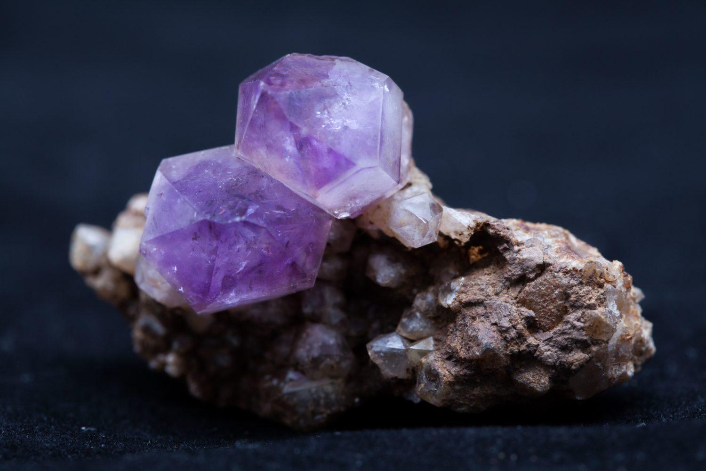 Ametist- Muzeu Mineralogie UBB