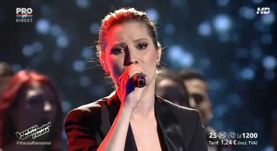 cristina balan a câştigat Vocea României 2015