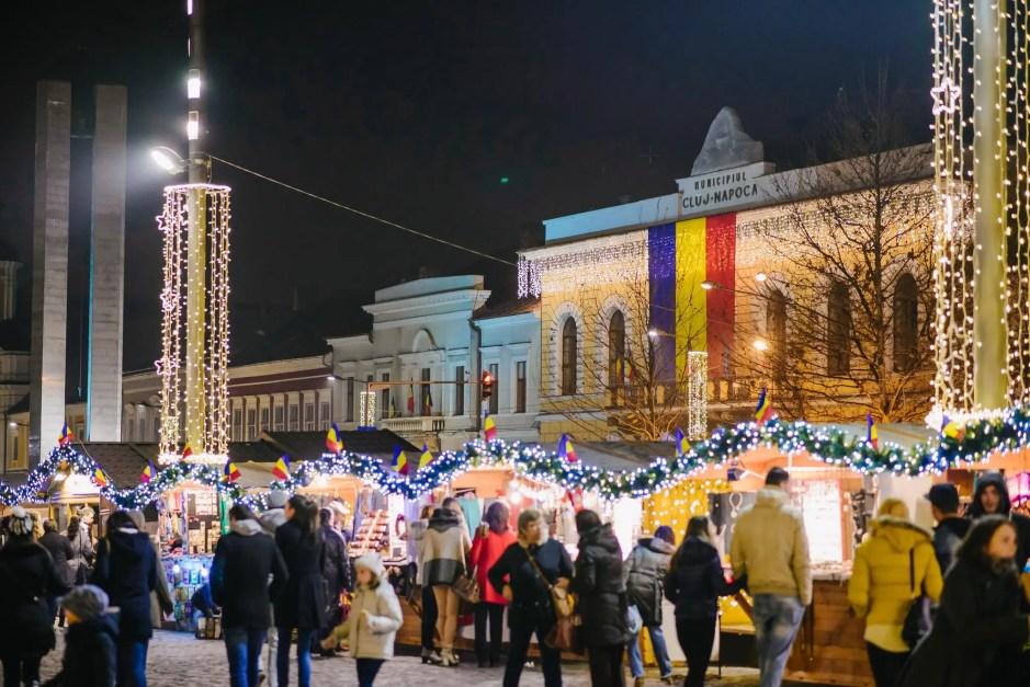 Fara zapada de Craciun la Cluj-Napoca. ANM a anuntat vreme calda