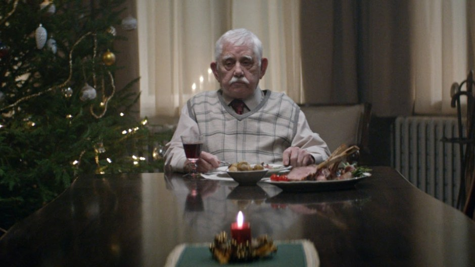 reclamă de Crăciun