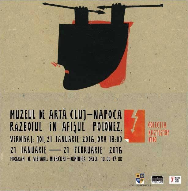 Expoziţie la Muzeul de Artă Cluj-Napoca: Războiul în afişul polonez