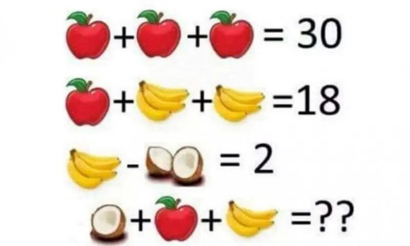 calcul banane