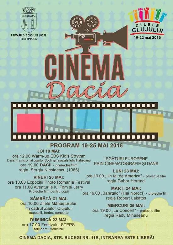 cinema dacia cluj