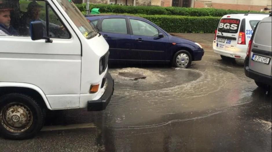 inundatie clinicilor cluj
