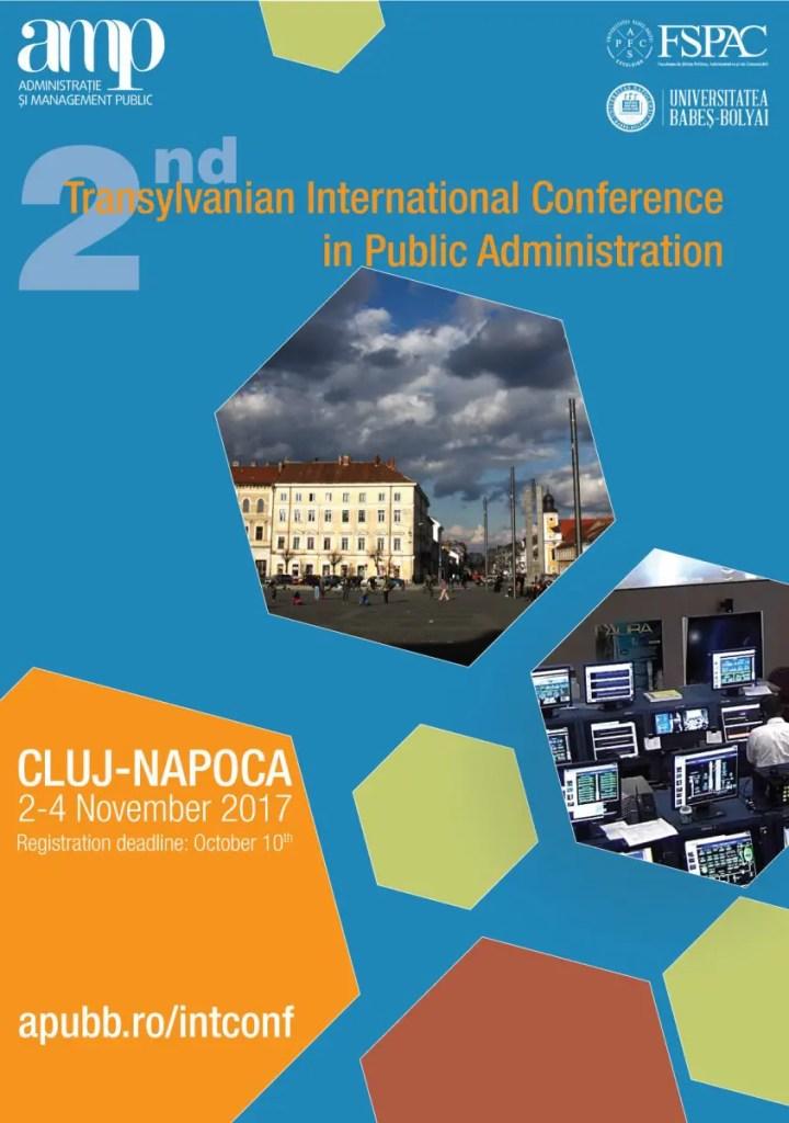 FSPAC găzduieşte cea mai mare conferință internațională pe teme de administrație publică