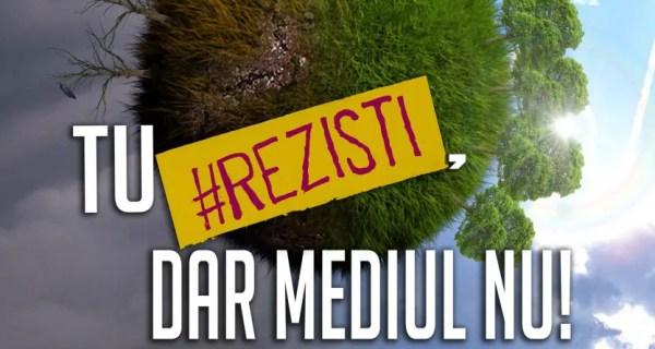 """ecologizare parcul feroviarilor cluj """"Tu #REZISTI, dar mediul nu!"""""""