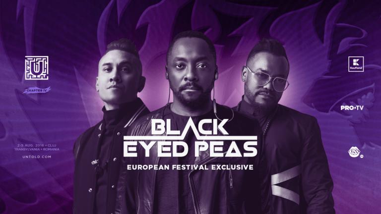 Celebra trupa Black Eyed Peas vine la Cluj! Americanii vor cânta pe scena UNTOLD