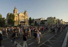 Protest în Cluj-Napoca! Peste 5000 de oameni nemulţumiţi de Noul Cod de Procedură Penală