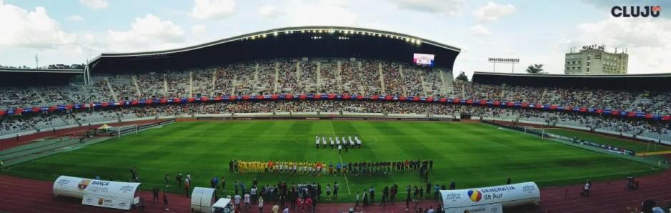 Generaţia de Aur a României a jucat împotriva Barca Legends