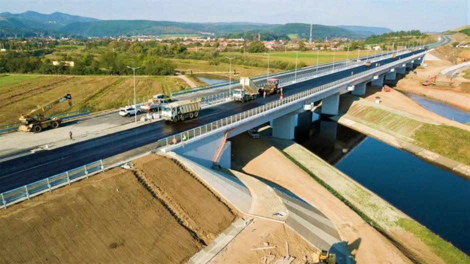 viaduct autostrada gilau 2018