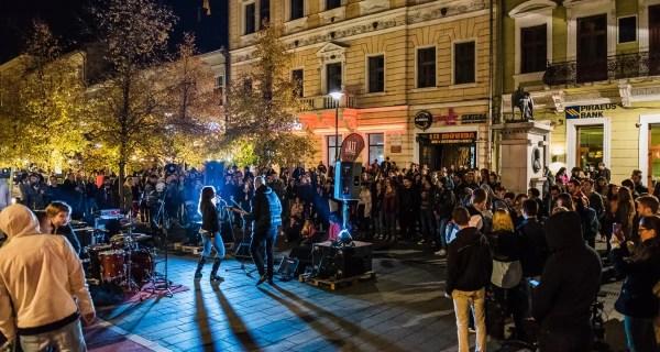 Weekend animat la Cluj   Vor avea loc 80 de spectacole, în stradă, într-o singură zi