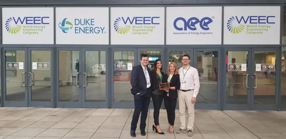 FOTO   Universitatea Tehnică din Cluj-Napoca a fost premiată în cadrul World Energy Engineering Conference (WEEC)