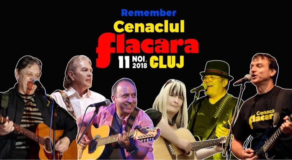 Cenaclul Flacăra revine la Cluj-Napoca   La eveniment vor participa Andrei Păunescu, Mircea Baniciu, Ducu Bertzi, Emeric Imre