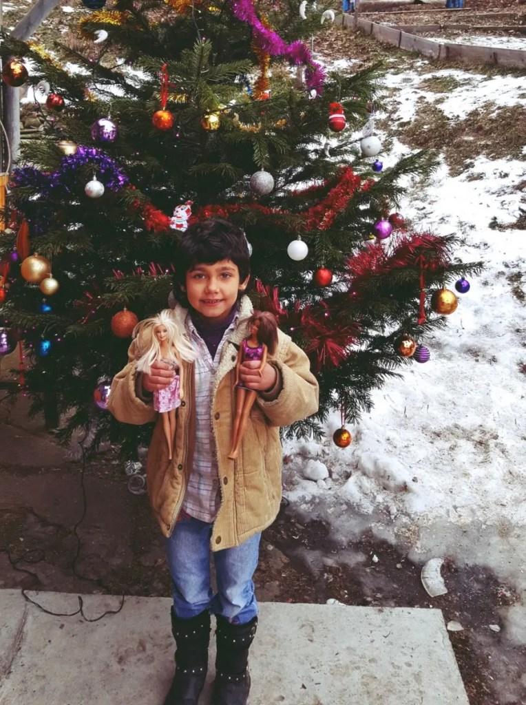 Fii Moș Crăciun, pentru copilul din tine