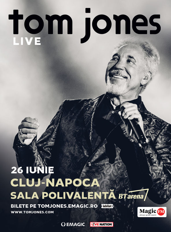 tom jones va concerta la cluj