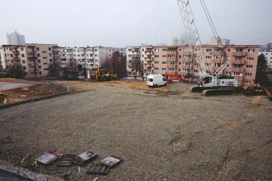 900 de locuri de parcare vor fi create în cartierul Mănăștur din Cluj