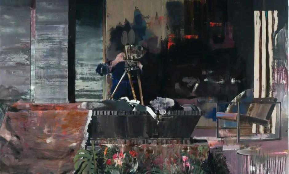 """Tabloul """"Funeraliile lui Duchamp"""" semnat de Adrian Ghenie a fost vândut cu 4,3 milioane de lire sterline"""