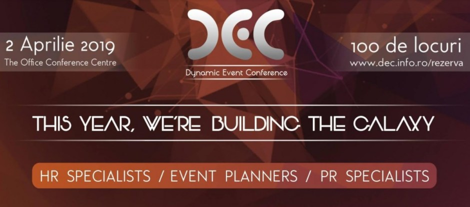 Dynamic Event Conference - punctul de întâlnire al organizatorilor de evenimente este la Cluj