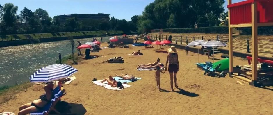 Vamos a la Playa: plaja din centrul Clujului