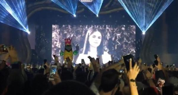 Moment emoționant la UNTOLD: Don Diablo i-a dedicat o melodie Alexandrei Măceşanu