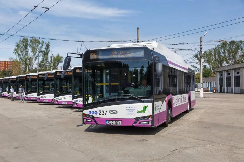 autobuze electrice cluj