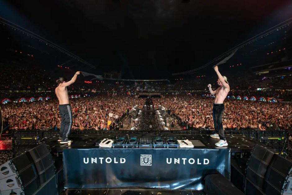 TOP 10 DJ ai lumii pe scena UNTOLD